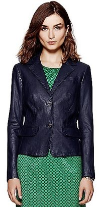Tory Burch Leather Cheryl Jacket
