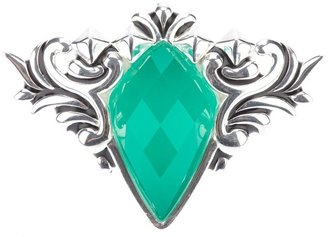 Stephen Webster 'Superstud' baroque spike crystal haze ring