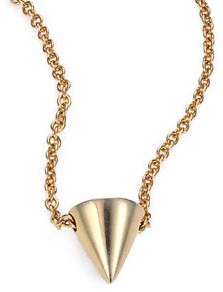 Eddie Borgo Single Cone Necklace