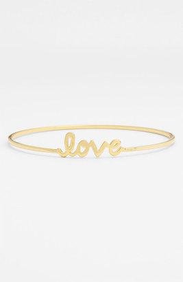 Ariella Collection 'Messages - Love' Script Station Bangle