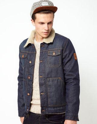Revolution Denim Jacket with Borg Lining