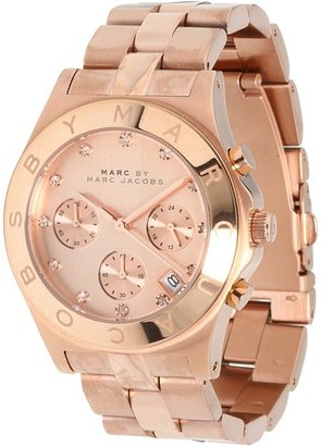 Marc by Marc Jacobs MBM3102 - Blade Chronograph (Dusty Rose) - Jewelry
