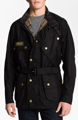 Barbour 'International Original' Relaxed Fit Sylkoil Waxed Jacket