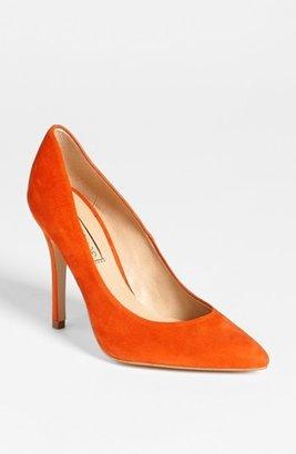 Topshop 'Gwenda' Pump Orange 7.5US / 38EU