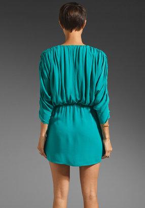 Parker Ruched Sleeve Dress