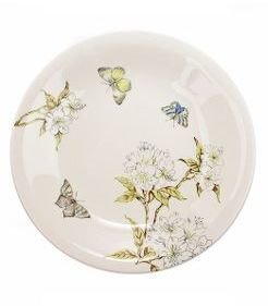 Anthropologie Butterfly Study Serving Plate