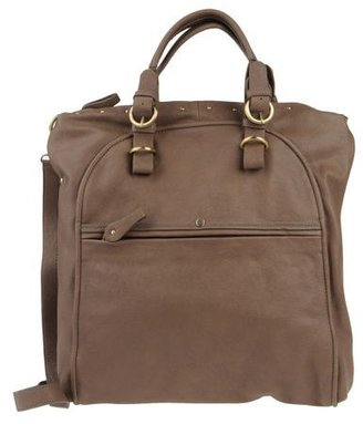 Capoverso Large leather bag