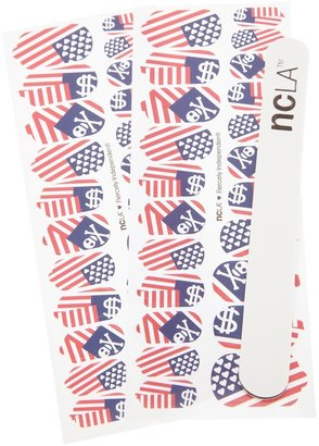 Ncla 'Fiercely Independent' nail wraps