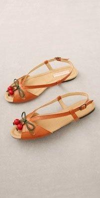 Charlotte Ronson Shoes Cherries Flat Sandal