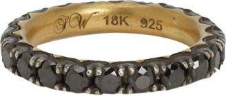 Black Diamond Sara Weinstock Eternity Ring