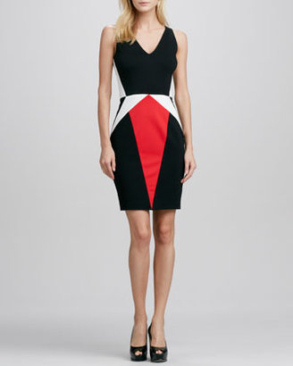 Erin Fetherston Julie Sleeveless Colorblock Dress