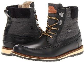 Lacoste Lousteau 2 (Black) - Footwear
