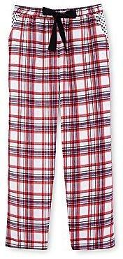Maidenform Twin-Print Flannel Sleep Pants - Girls 6-16