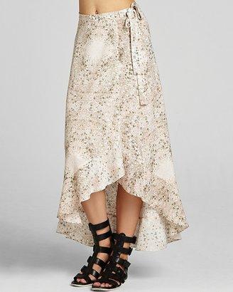 BCBGeneration Wrap Skirt - Ruffle Hem