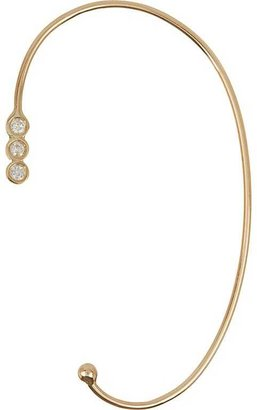 Jennie Kwon Women's Diamond & Gold Ear Cuff