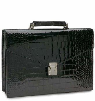 Brooks Brothers Alligator Billfold Briefcase