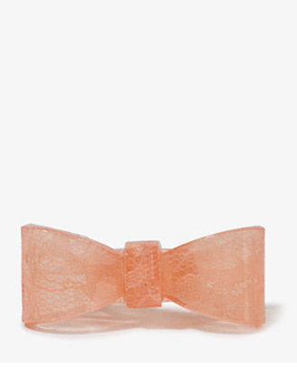 Forever 21 Lace Bow Ring