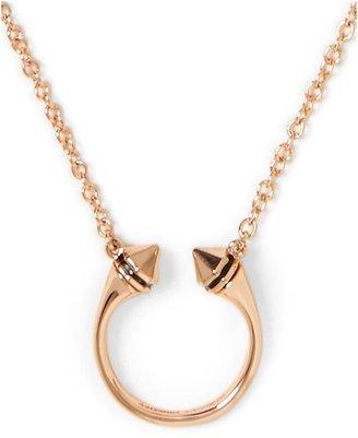 Rebecca Minkoff Ring Necklace