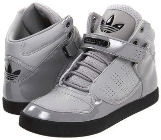 adidas adiRise Mid 2.0 '12 (Aluminum Patent/Aluminum/Black) - Footwear