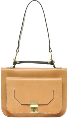 Asos Leather Seraph Shoulder Bag