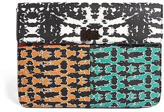 Asos Clutch Bag In Digital Print