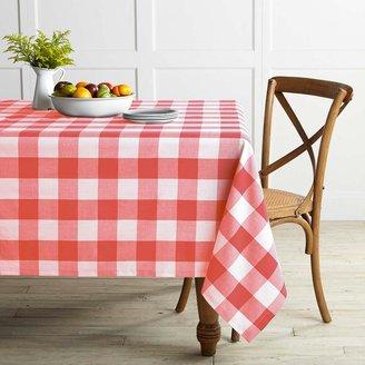 Williams-Sonoma Buffalo Plaid Tablecloth