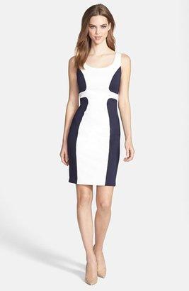 Jax Colorblock Scuba Dress