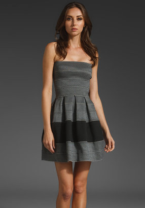 Pleasure Doing Business Pleated Petticoat Dress