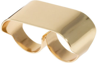 Asos Double Finger Smooth ID Ring
