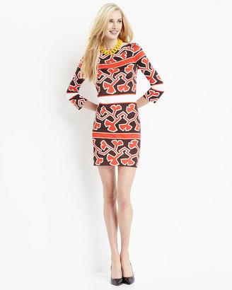 Diane von Furstenberg Ruri Printed Silk Jersey Dress