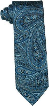 Geoffrey Beene Men's Paisley Silk Tie with Gift Box