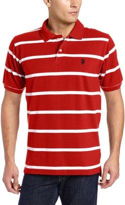 U.S. Polo Assn. Men's Short Sleeves Narrow Striped