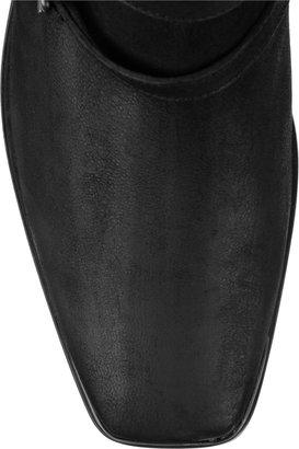 Miu Miu Brushed-leather biker boots