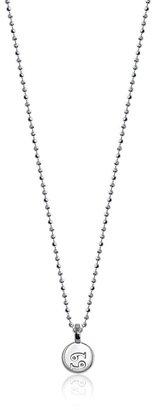 "Alex Woo Mini Addition Zodiac Cancer Sterling Silver Pendant Necklace, 16"""