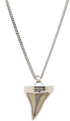 Givenchy Large Shark Tooth Necklace