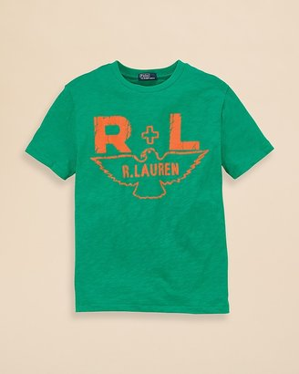 Ralph Lauren Boys' Jersey Eagle Tee - Sizes S-XL