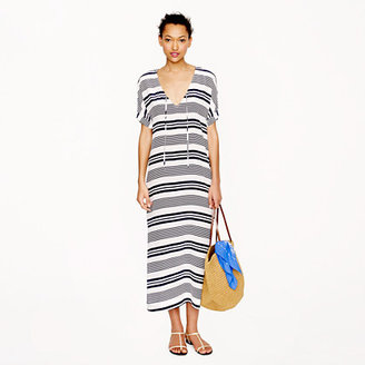 J.Crew Silk stripe maxidress