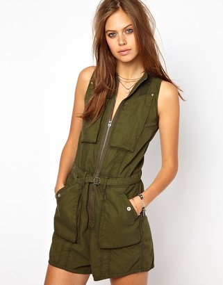 G Star G-Star Cargo Playsuit