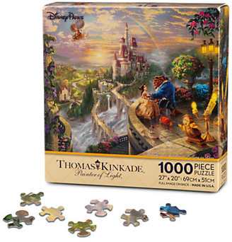 Disney Beauty and the Beast ''Falling in Love'' Puzzle by Thomas Kinkade