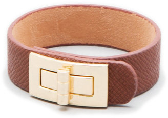 Lori's Shoes Twist-Latch Leather Cuff