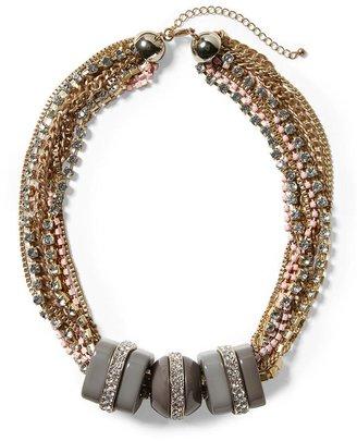 Pim + Larkin Three Block Chain Necklace