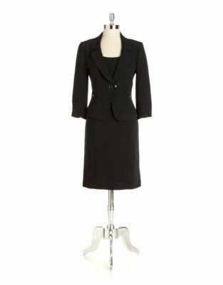 Tahari ARTHUR S. LEVINE Two-Piece Jacket Dress