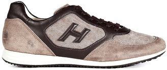 Hogan Suede Detailed Sneakers