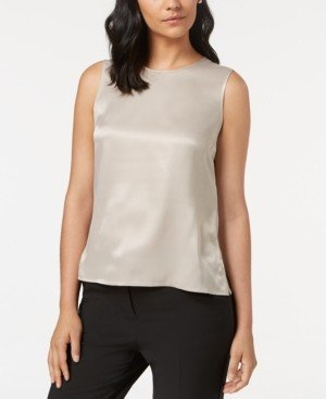 Kasper Sleeveless Top, Regular & Petite