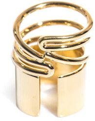Balenciaga Tube wrap around ring