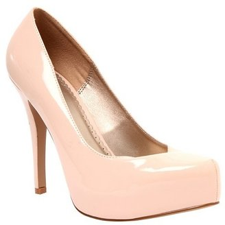 System Nude Patent Leather Heel (Wide Width)