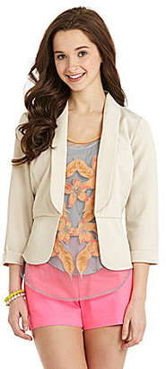 Stoosh Lace-Back Blazer