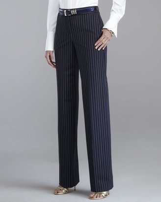Shelley Stretch Pinstriped Pants