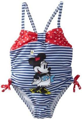 Disney Baby-Girls Infant Minnie Stripe Swimsuit