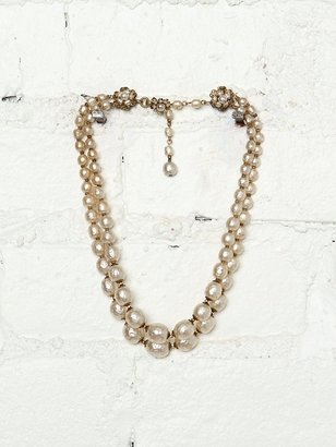 Miriam Haskell Vintage Pearl Necklace